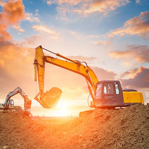 Industria 4.0 macchine movimento terra